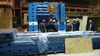 Будни ВСМПО. Монтаж итальянского фрезерного станка в прокатном цехе