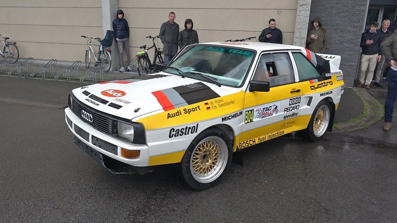 Audi Sport Quattro S1 Replica Lovely 5 Cylinder Engine Sounds Youtube