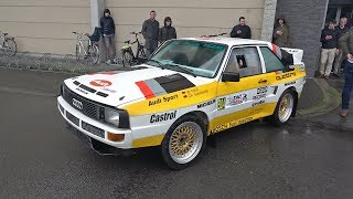 Audi Sport Quattro S1 (replica) Lovely 5-Cylinder Engine Sounds!