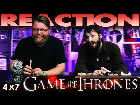 Game Of Thrones 4x7 REACTION!!