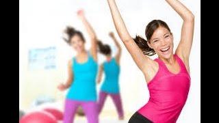 Бесплатное видео фитнес. Урок фитнеса дома.