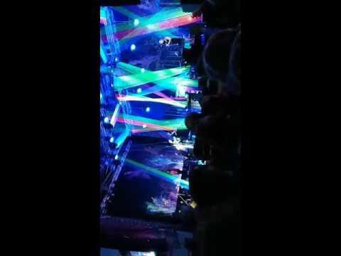 Ray garvey Lied auf  dem Konzert in rosenheim