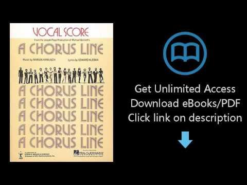 Download Chorus Line, A Vocal Score PDF