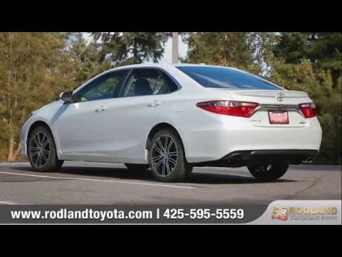 2016 Toyota Camry Se Features Options Rodland Everett Wa Bad Credit Car Loans Available