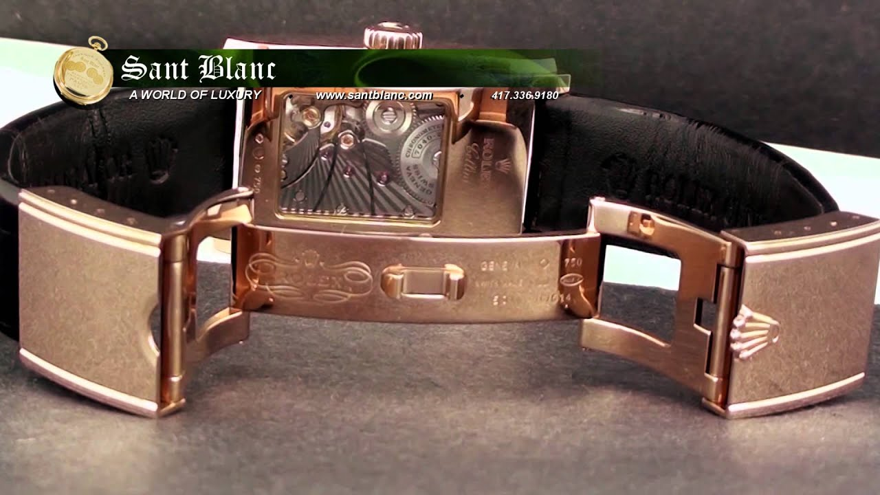 Rolex Cellini Prince Rose Gold Watch