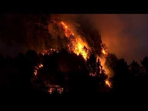 Dos incendios en Viana do Bolo 5 8 20