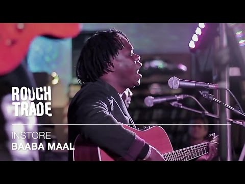 Baaba Maal - Kalaajo   Instore at Rough Trade East, London