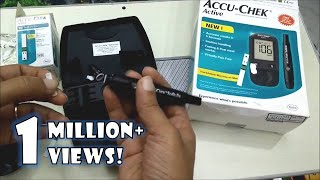 How to use Accu Chek Active Blood Glucose Monitoring system | Accu Chek Demonstration screenshot 4