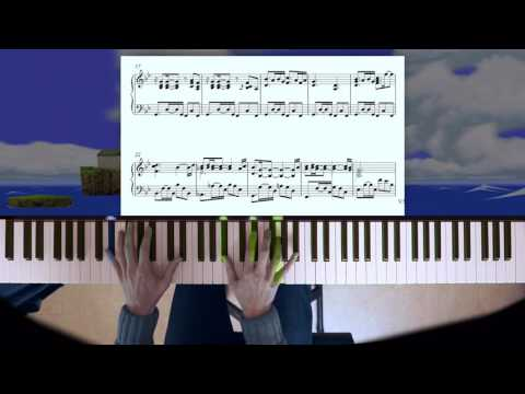 Zelda: Wind Waker Dragon Roost piano+sheet music+improv