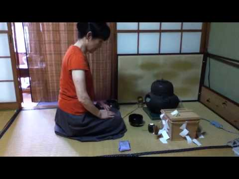 Vlog #12:  Tea Ceremony Lessons