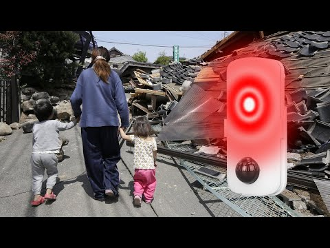 Earthquake Alarm≥4.0-Magnitude Earthquake, Emergency Lamp, Handheld Flashlight, SOS Signal Rescuers.