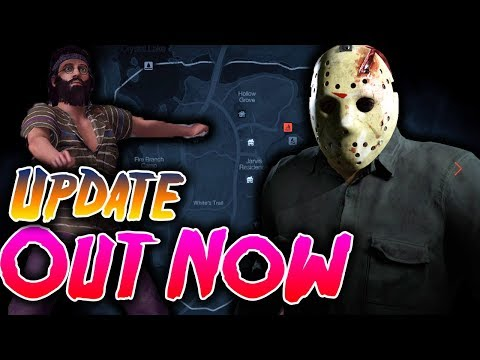 OUT NOW! Part 4 Jason out now with Tommy Jarvis Map and New Counselor - Friday the 13th Game Update