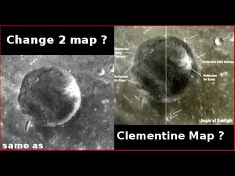 Chang´e 2 vs Clementine lunar map