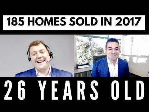 POWER TALK- HOW MILLENNIAL REAL ESTATE AGENT KEVIN MILLS SOLD 185 HOMES IN 2017 AT ONLY 26 YEARS OLD