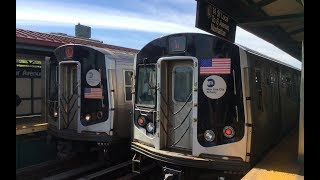 BMT Canarsie Line: Manhattan & Rockaway Pkwy Bound R143 & R160 (L) Train @ Sutter Avenue