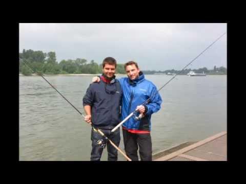 angeln am rhein 6 youtube