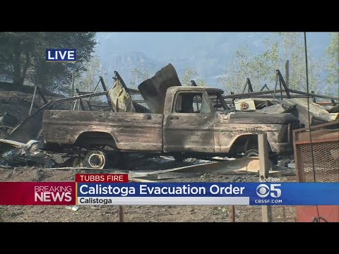 wine article Calistoga Residents Scramble To Leave After Evacuation Ordered