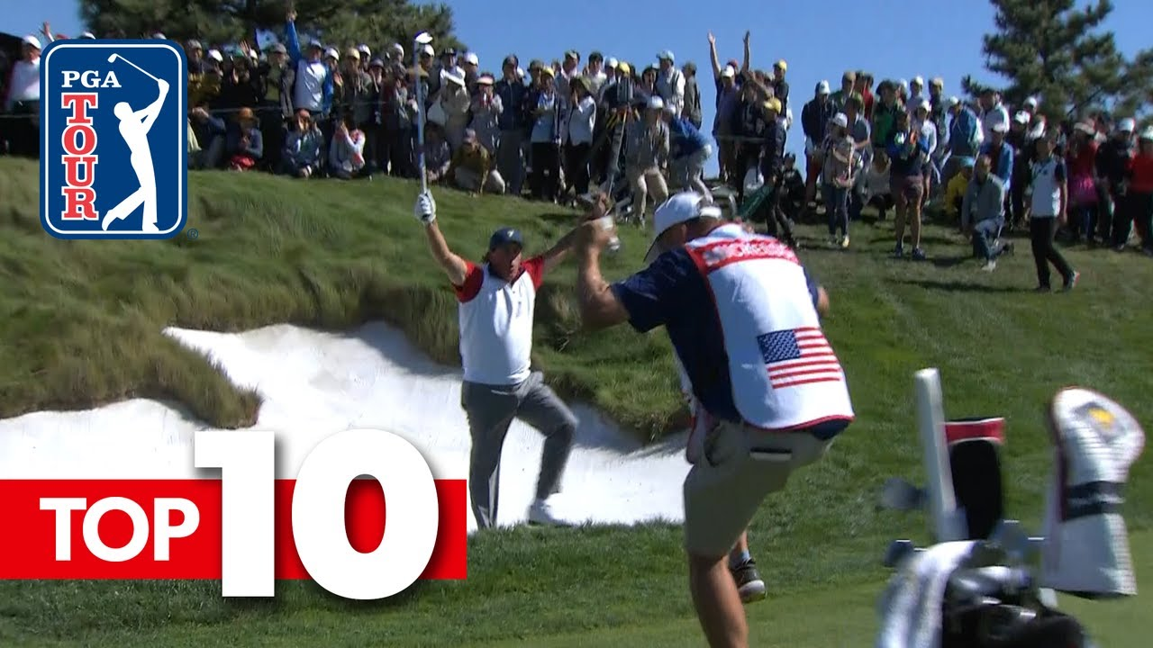 Top 10 all-time shots from the Presidents Cup
