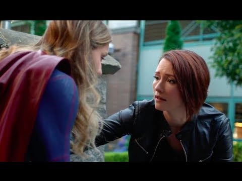 Supergirl 3x02  Alex calms Kara down from a panic attack HD with subs