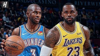 Los Angeles Lakers vs Oklahoma City Thunder - Full Highlights | November 22 | 2019-20 NBA Season