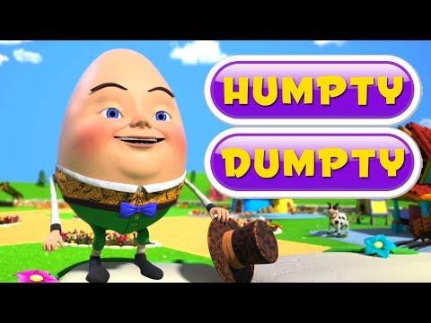 Humpty Dumpty Satt På Veggen | Dikt For Babyer | Humpty Dumpty Sat On A Wall | Kids Song
