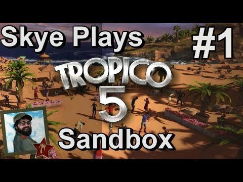 Tropico 5 Gameplay Sandbox Part 1 ►Best Starting Strategies - Colonial Era◀ Let's Play/Tutorial/Tips