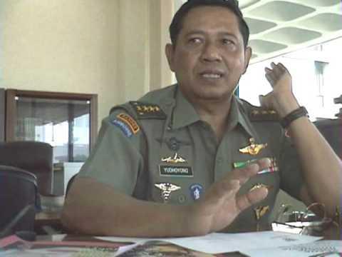 10年前のユドヨノ現大統領との会見(6) Interview President RI Susilo Bambang Yudhoyono