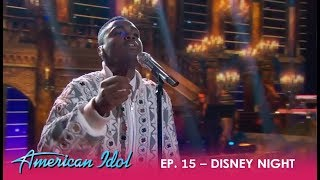 "Michael J. Woodard: KILLS Disney Night With ""Beauty and the Beast""! | American Idol 2018"