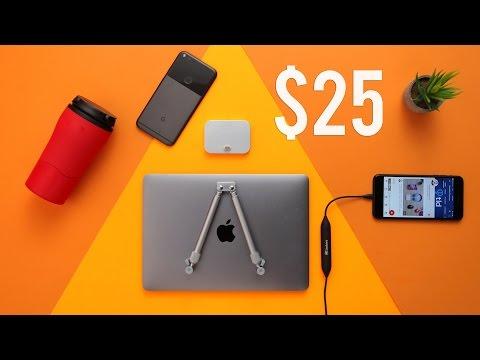 The Best Tech Under $25 - December 2016