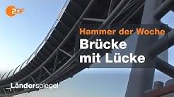 Baumisere in Traunstein: Schwer was eingebrückt - Hammer der Woche vom 14.12.2019 | ZDF