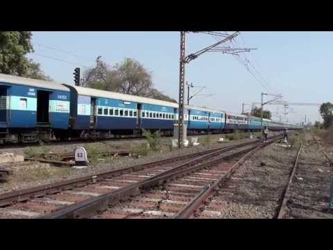 Compilation Of Rail-fanning At One Of Mumbai's High Speed Station!!!!!!!!