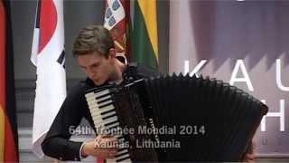"""Trophée Mondial 2014. Augustinas Rakauskas. """"Suggestion Diabolique""""op.4"""" - S. Prokofiev. 2014 09 27"""