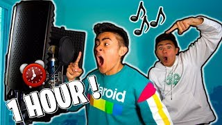 WE MADE A SONG IN 1 HOUR!!! (Epic Fail??)