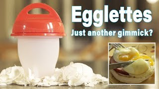 Egglettes Review - Kids cooking and reacting to Egglettes for the first time