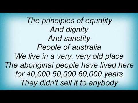 Midnight Oil - People Of Australia Lyrics