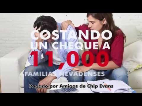 "Chip Evans 4 Congress - ""Washington está Roto"" TV Spot (Español)"