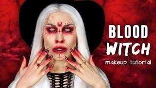 ♦ Krwawa Czarownica  makijaż na Halloween  ♦ Agnieszka Grzelak Beauty