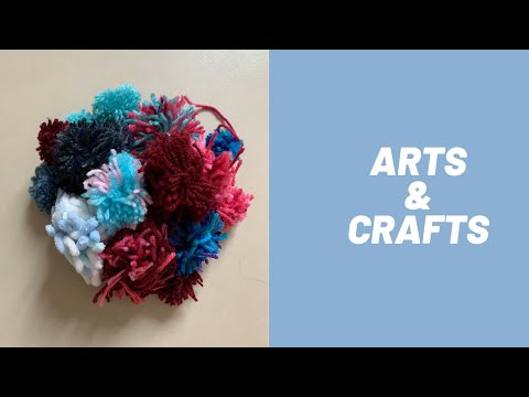 Arts and crafts - pom-poms