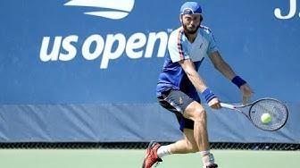 Miomir Kecmanovic vs. Paolo Lorenzi | US Open 2019 R2 Highlights