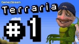 Terraria #1 - Percy the Guide Man Thumbnail