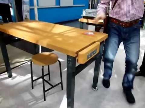 Как сделать раскладной верстак своими руками