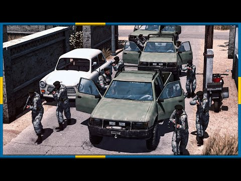 IRANIAN MARINES RAID ARAB SEPERATIST COMPOUND!