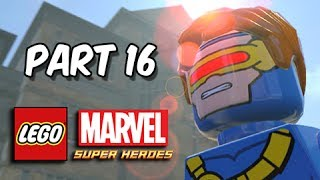 LEGO Marvel Super Heroes Gameplay Walkthrough - Part 16 X-Men & Mutant Academy