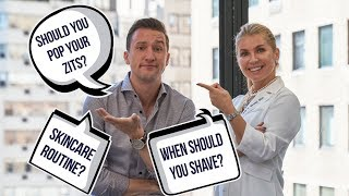 Your Most Frequently Asked Skincare Questions Answered by a Dermatologist | ft. Dr. Russak