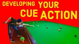 Snooker Cue Action Tips