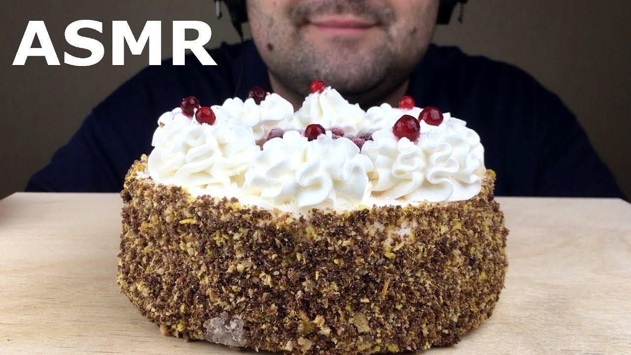 Asmr Ice Cream Cake Eating Sounds Eating Show Mukbang No Talking