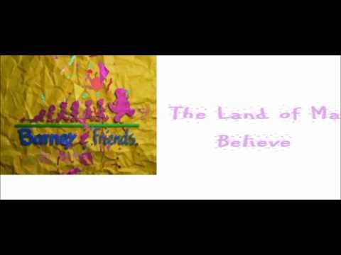 Barney's Sing Along Songs Cd Part 3