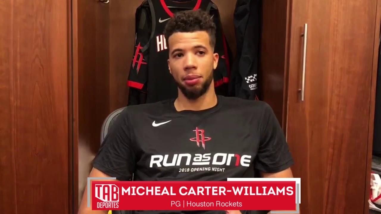 Michael Carter-Williams busca ayudar a Harden y lo Rockets