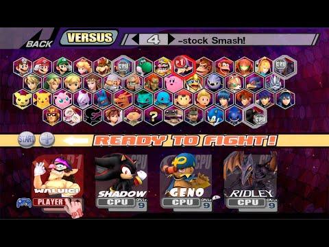 Descargar Super Smash Bros Legacy XP Ultima Version [2019] PC FULL + Gameplay