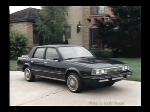 1986 Chevrolet Celebrity Showroom Promotional Video
